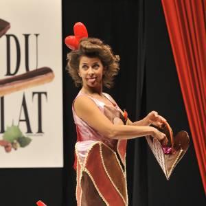 Corinne Touzet au 14ème Salon du Chocolat en septembre 2009.
