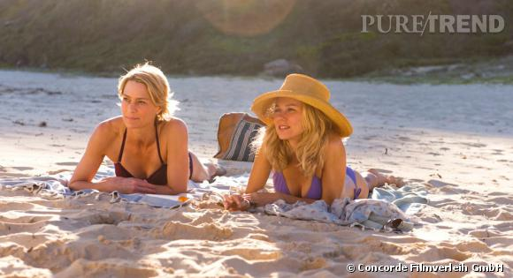 "Naomi Watts et Robin Wright dans ""Perfect Mothers""."