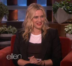 """Kate Winslet explique sur le plateau de l'émission """"TheEllenShow"""" d'Ellen DeGeneres pourquoi elle a appelé son dernier fils Bear Blaze."""