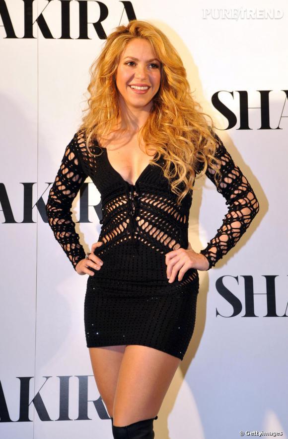 Shakira, ultra-sexy pour faire la promotion de son nouvel album le 20 mars 2014!