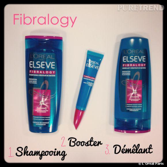Elseve Fibralogy, la nouvelle routine capillaire pour booster nos cheveux fins !