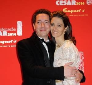 Guillaume Gallienne a rencontré sa femme Amandine en 2001.