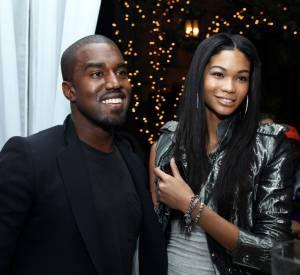 Kanye West et Chanel Iman en 2009.