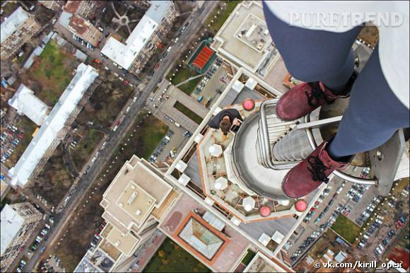 Les photos prises depuis les sommets des building par le russe Kirill Oreshkin séduisent tumblr. (Source : vk.com/kirill_opex via 99percentinvisible.tumblr.com)
