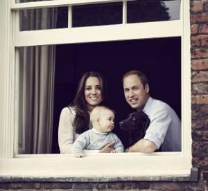 Kate et William : portrait de famille idyllique avec leur petit George !