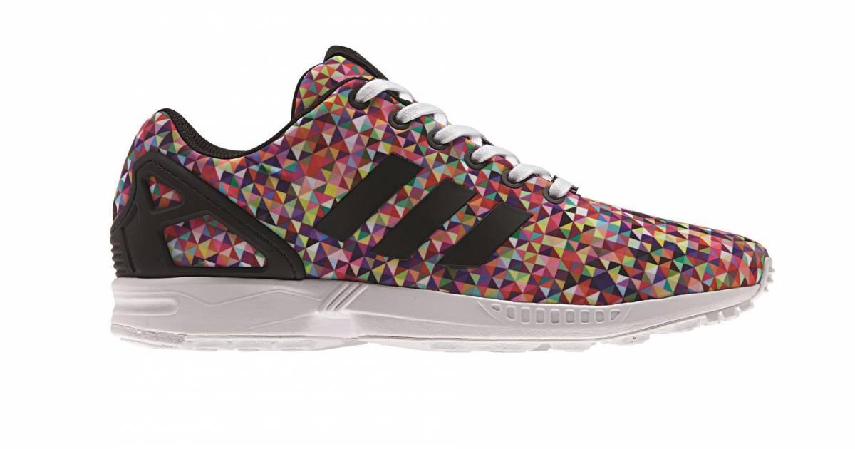 Basket Adidas Originals ZX Flux, prix : 105€.