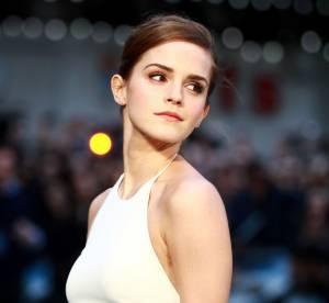 Emma Watson : robe fendue et virginale, elle est plus sexy que jamais !