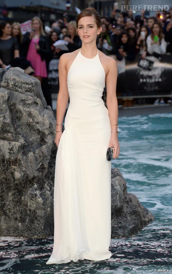 """Emma Watson a bien grandi depuis """"Harry Potter""""."""