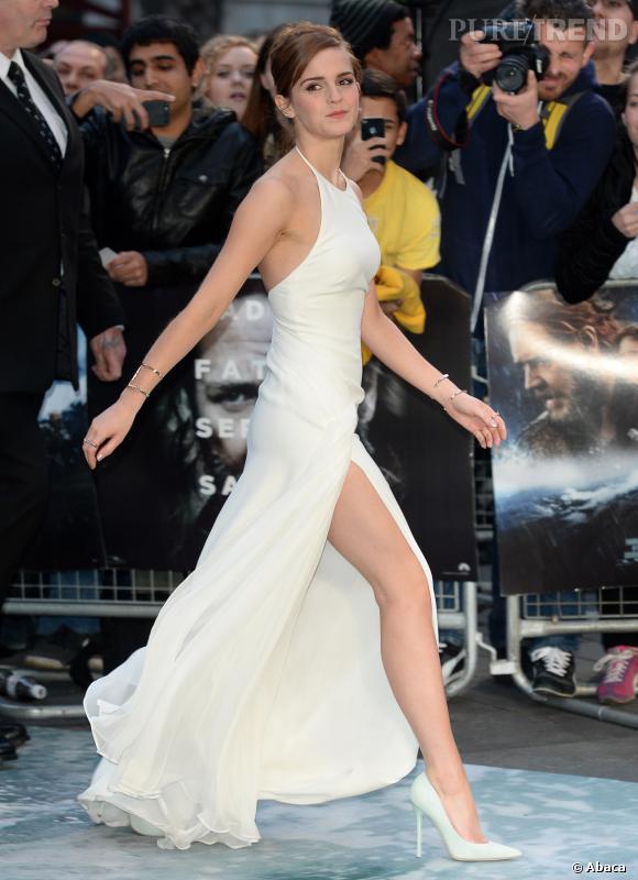 Emma Watson Et Sa Silhouette De Reve Dans Sa Robe Ralph Lauren