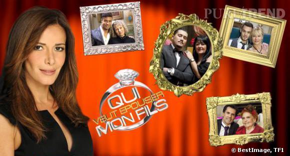"""TF1 dévoile les portraits des quatre binômes de la saison 3 de """"Qui veut épouser mon fils ?"""" qui démarrera le 25 avril 2014."""