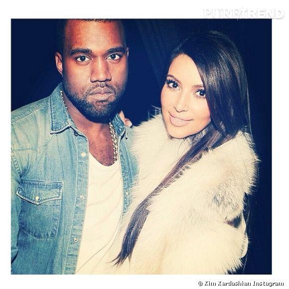 Kanye West et Kim Kardashian, un mariage hallucinant en 2014.