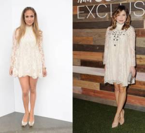 Jennifer Lopez VS Sophia Bush : la robe en dentelle H&M Conscious