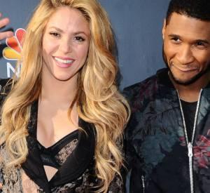 Avec son pote Usher, Shakira sait mettre de l'ambiance sur le tapis rouge.