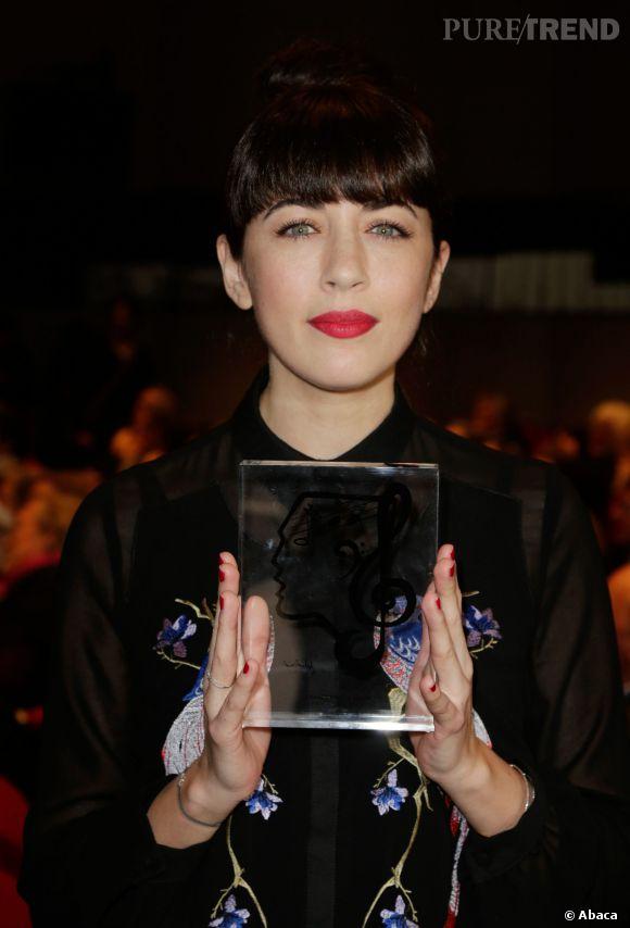 Nolwenn Leroygagnante du prix Sacem UNAC en 2013.