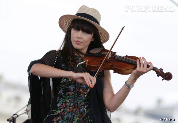 Nolwenn Leroy, violoniste émérite en 2013.