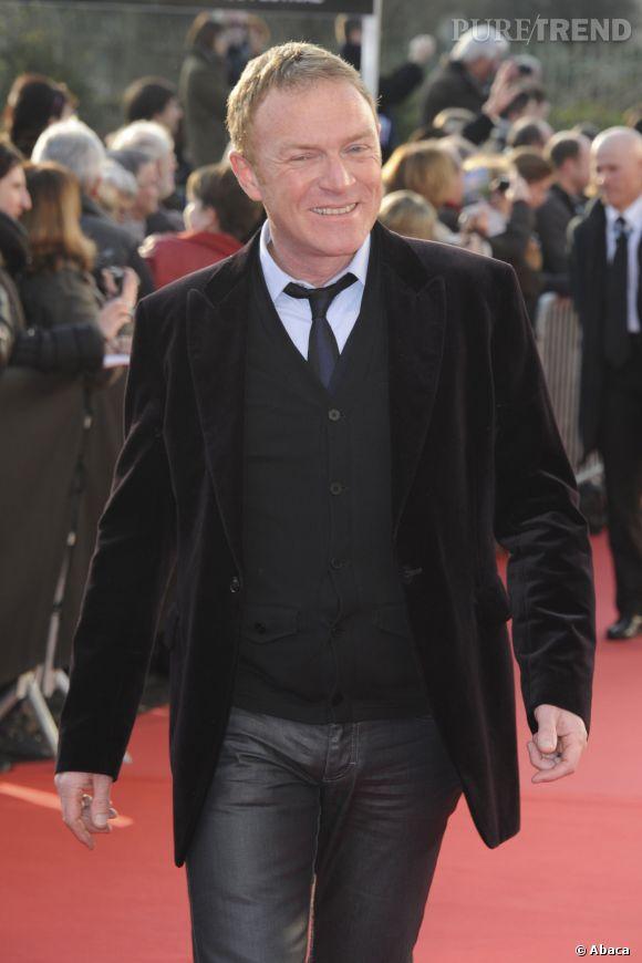 Christophe Hondelatte au 5ème Festival Du Film Policier à Beaune en avril 2013.