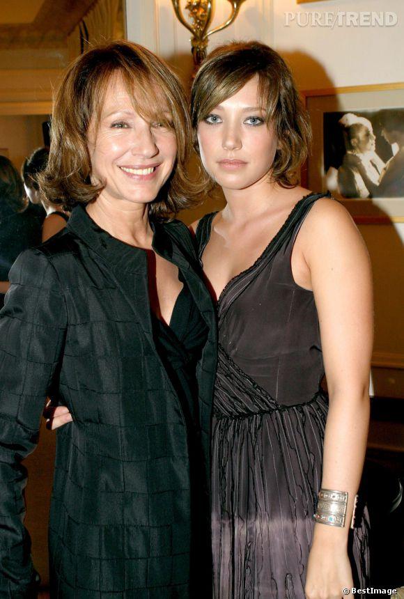 Nathalie Baye et Laura Smet, deux passionnées de cinéma.