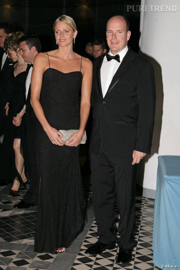 Charlene de Monaco et Prince Albert, couple glamour du rocher.