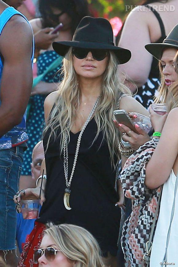 Fergie lors du premier week-end de Coachella à Indio en avril 2014.