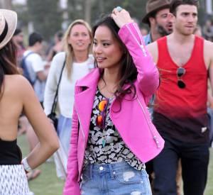 Jamie Chung lors du premier week-end de Coachella à Indio en avril 2014.