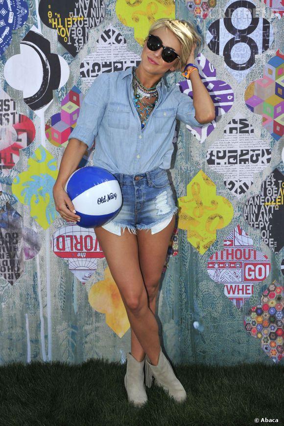 Julianne Hough lors du premier week-end de Coachella à Indio en avril 2014.
