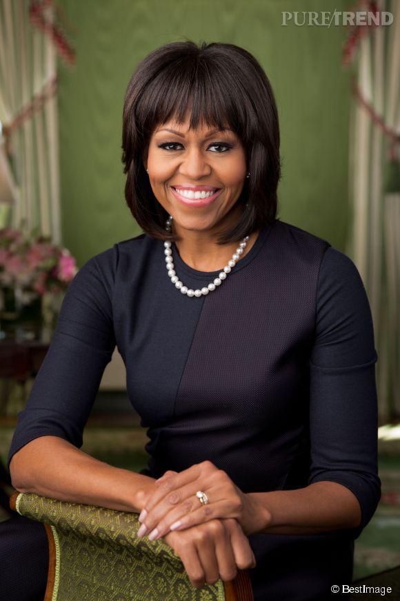 Michelle Obama fera l'ouverture officielle du Anna Wintour Costume Center à New-York le 5 mai 2014.