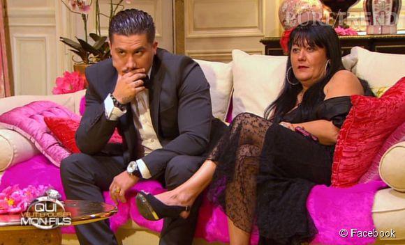 Jacky et Véronique, binôme mère/fils participant à la nouvelle saison de Qui veut épouser mon fils. Diffusion dès le 25 avril 2014.