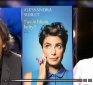 Alessandra Sublet sous le feu des critiques d'Aymeric Caron.