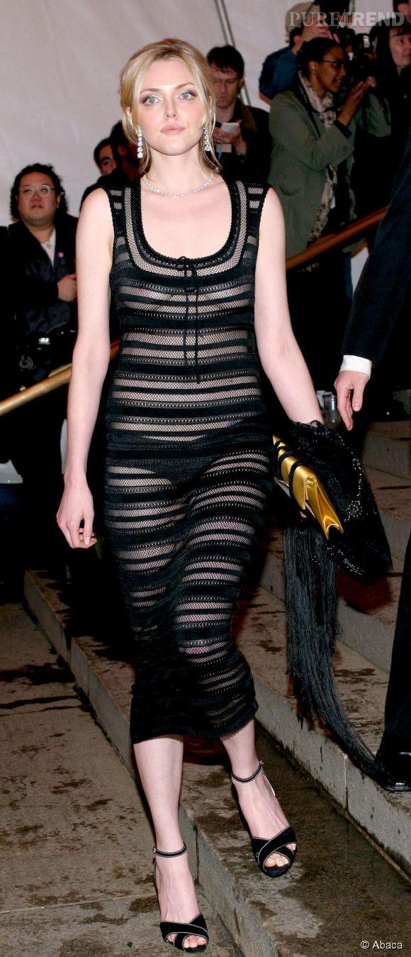 Sophie Dahl lors du Met Ball 2005.