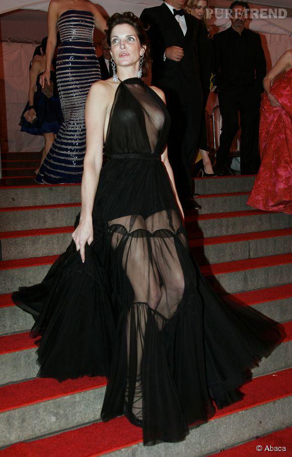 Stephanie Seymour lors du Met Ball 2008.
