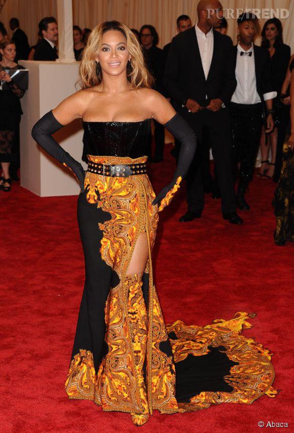 Beyonce au MET Ball 2013.