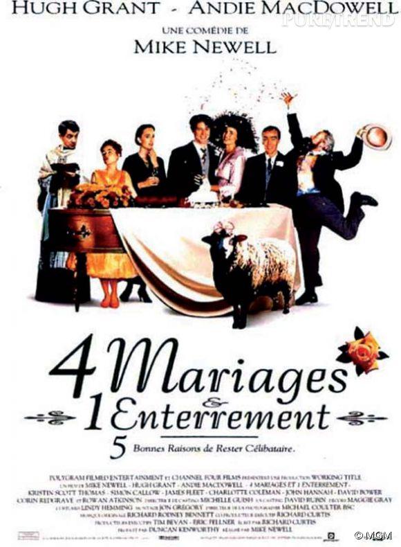 """""""4 mariages et 1 enterrement"""" en 10 chiffres."""