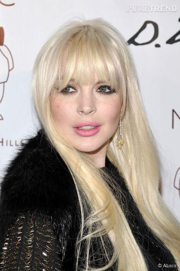 Lindsay Lohan en 2013.