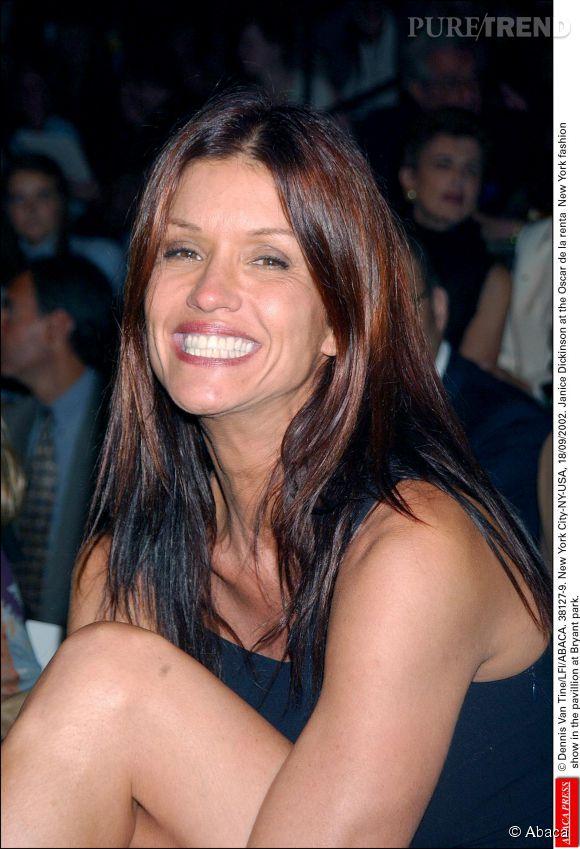 Janice Dickinson en 2002.