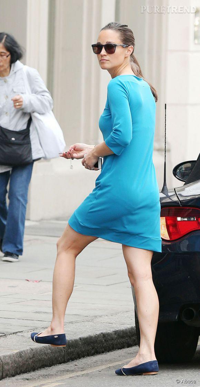 Pippa Middleton affiche des fesses bien plus plates dans la vie de tous les jours.