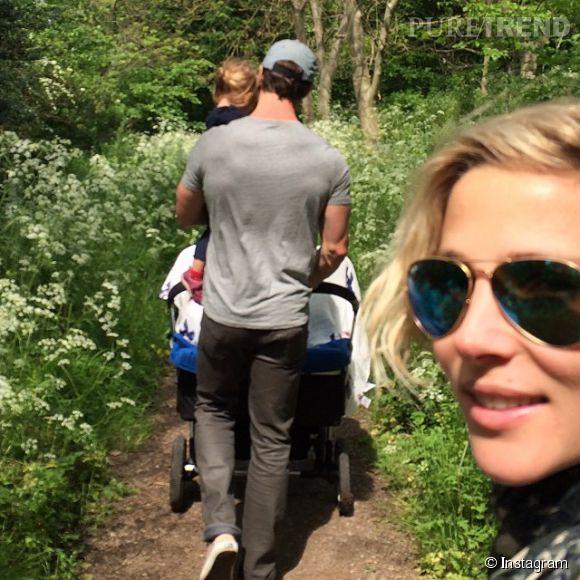 Elsa Pataky, Chris Hemsworth et leurs enfants passent la journée dans la nature !