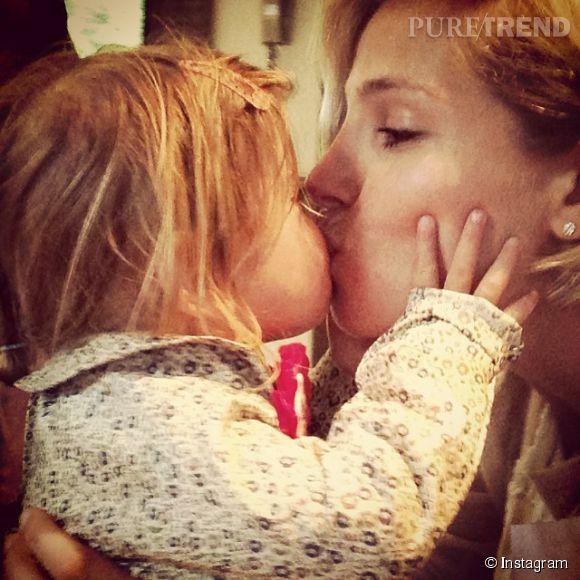 Elsa Pataky fête l'anniversaire de sa fille India, deux ans.