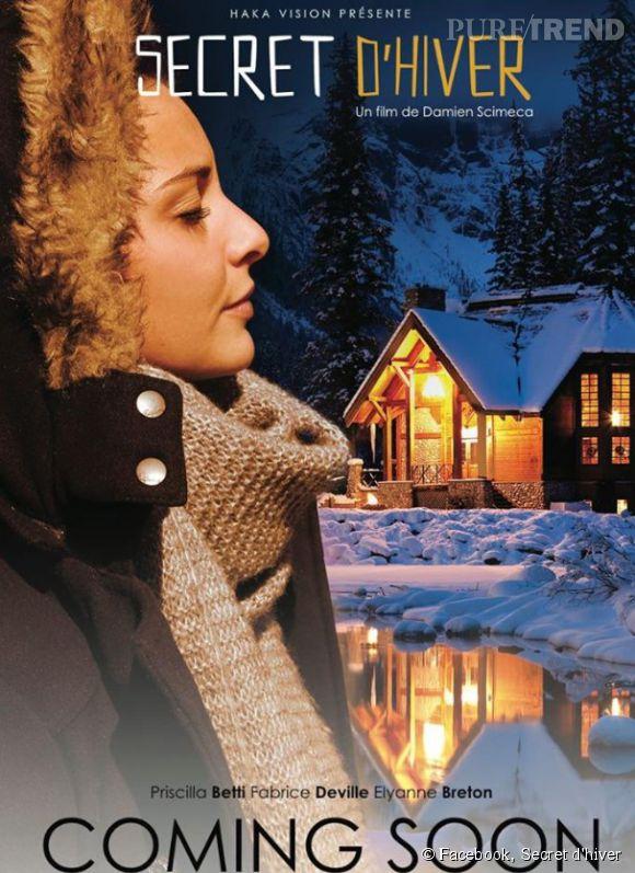 """Priscilla Betti à l'affiche du film franco-québécois """"Secret d'hiver""""."""