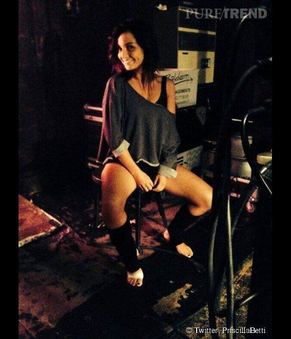 """Priscilla Betti campe le personnage d'Alex Owens dans la nouvelle comédie musicale """"Flashdance""""."""