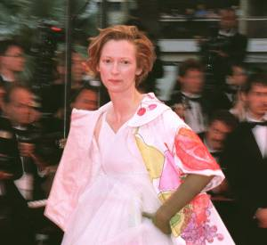Tilda Swinton au Festival de Cannes 2001.