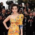 Fan Bingbing, le robe oeuvre d'art au Festival de Cannes 2010.