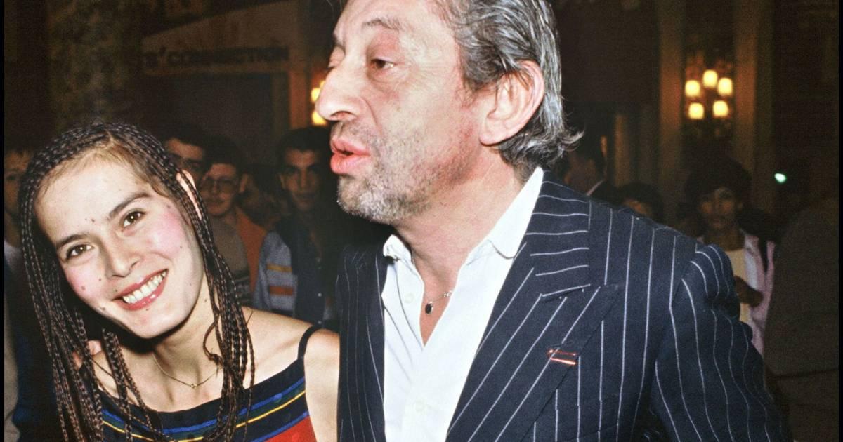 Serge Gainsbourg et Bambou en 1983 - Puretrend