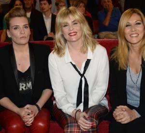 Les trois soeurs Seigner, Marie-Amélie, Emmanuelle et Mathilde, réunies pour Vivement dimanche à suivre le 18 mai 2014.