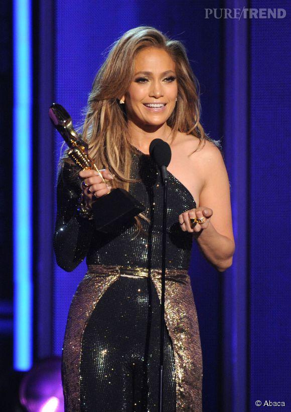 Jennifer Lopez honorée du Billboard Icon Award aux Billboard Music Awards 2014 le 18 mai 2014 à Las Vegas.