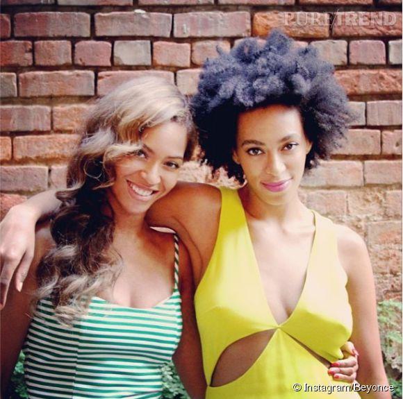Les soeurs Solange et Beyonce semblent être redevenues les deux meilleures sisters si l'on en croit ce cliché, posté sur le compte Instagram de Beyonce.