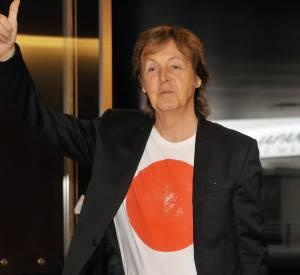 Pourtant Paul McCartney était arrivé plein d'énergie positive à l'aéroport de Tokyo le 15 mai 2014.
