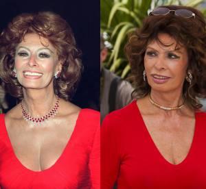 Sophia Loren : 14 ans séparent ces 2 photos, incroyable !