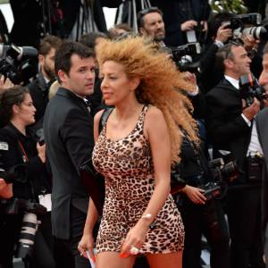 "Afida Turner monte les marches pour ""The Search"" le 21 mai 2014 à Cannes."