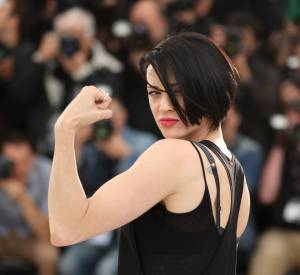 "Asia Argento, ""Wonder Woman"" lors du photocall du film ""Incompresa"" , le 22 mai 2014."