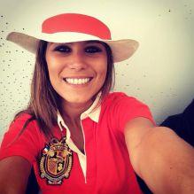 Karine Ferri passe par le corner Lacoste lors du tournoi Roland Garros !